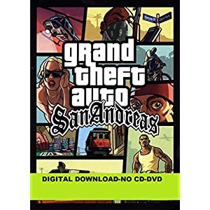 Grand Theft Auto gta San Andreas pc game india 2020