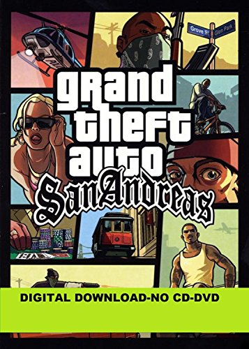 Grand Theft Auto gta San Andreas pc game india 2020