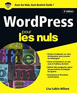 Amazon Com Wordpress Pour Les Nuls Grand Format 3e