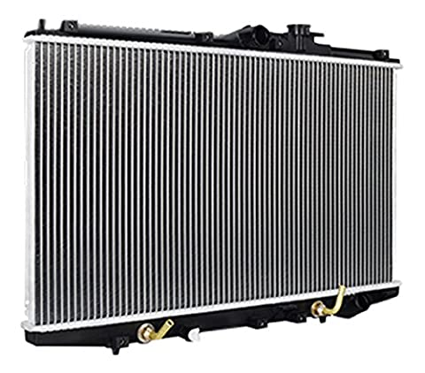 Mishimoto R2148-AT Silver Replacement Radiator (1998-2002 Honda Accord 2.3L) - Oem Stock Replacement Tanks