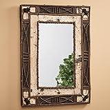 Birch & Rattan Mirror