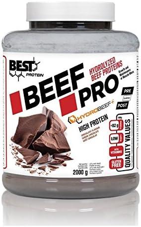 BEEF POWER 2 Kg (proteina carnica) sabor chocolate: Amazon.es ...
