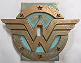 Wonder Woman - Light Switch Cover (Aged Patina)