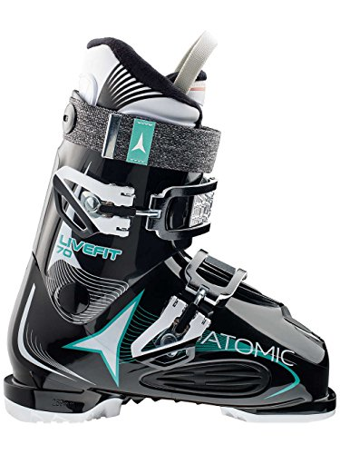 Atomic Live Fit 70 W Womens Ski Boots 2017 - 27.5/Black by Atomic