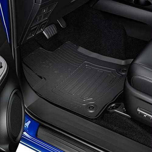 Genuine Toyota Hilux 2016 Double Cab Black MT Rubber Carpet Mats PW210-0K010