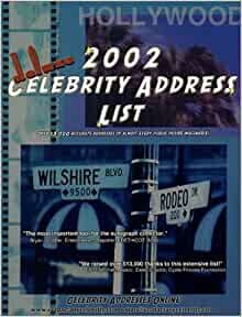 How can find celebrity email addresses
