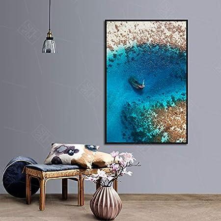 wojinbao Sin Marco Nordic Blue Seascape Beach Carteles e ...