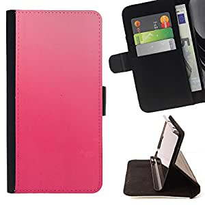 LG Magna / G4C / H525N H522Y H520N H502F H500F (G4 MINI,NOT FOR LG G4)Case , Sutil Rosa monótono color melocotón fucsia- la tarjeta de Crédito Slots PU Funda de cuero Monedero caso cubierta de piel