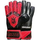 Brine King 3X Goalie Gloves (Lime Green, 11)