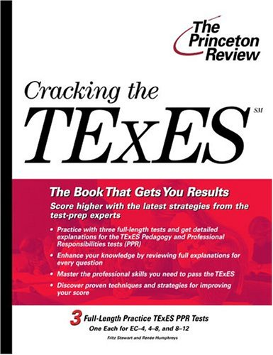 Cracking the TExES (College Test Preparation)