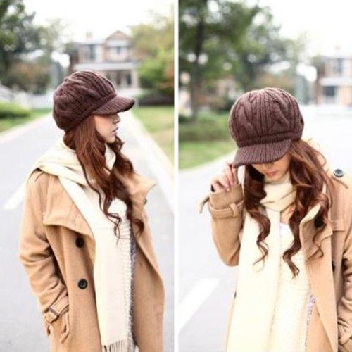 Knit Newsboy Hat Pattern - 7