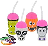 Halloween Plastic Sippy Cups