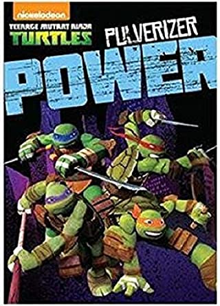 Teenage Mutant Ninja Turtles DVD - Pulverizer Power: Amazon ...