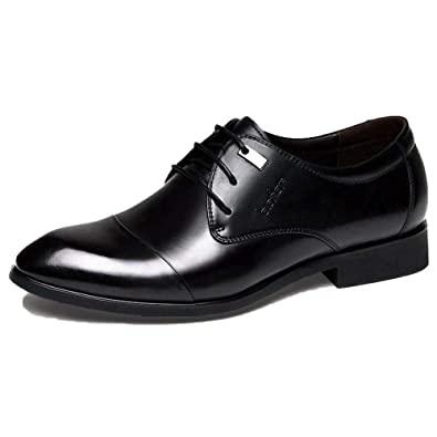Mr Zapato Marrón Trabajo Cordones Zapatos De Traje De Charol ...