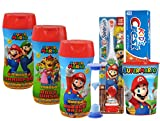 Super Mario Brothers Boys All Inclusive Bath Time Stocking...
