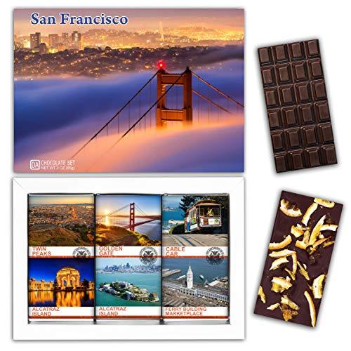 DA CHOCOLATE Candy Souvenir SAN FRANCISCO Chocolate Set 1 Box 7.2x5.2