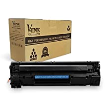 V4INK ® 1 Pack Compatible for HP CE285A 85A Toner Cartridge for HP LaserJet Pro P1102w P1006 P1100 MFP MF3010 M1130 M1212nf M1210 M1217nfw printers - 2000 Pages Yield