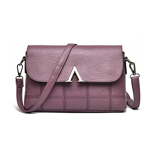 La À Femmes Ligne De Mode V Sac Sac V Meaeo Bandoulière Sauvages Purple Sac Enveloppe De Brodé Des Nouveau Violet qwa8X