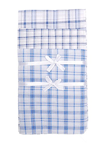 Neatpal 100% Cotton Men's Handkerchiefs Check Pattern Hankies by Neatpal (Image #1)