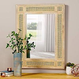 Wicker Wall Mirror