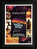 "William Shatner Framed Autographed 17"" x 24"" Star Trek II The Wrath of Kahn Movie Poster - Beckett COA - Beckett Authentication"