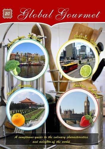 (Global Gourmet Dutch Tomato Soup, Nasi Goreng, Deep Fried Seafood Roll & English Plum Tart)