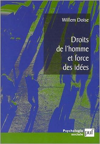 Livres gratuits en ligne Droits de l'homme et force des idées epub, pdf