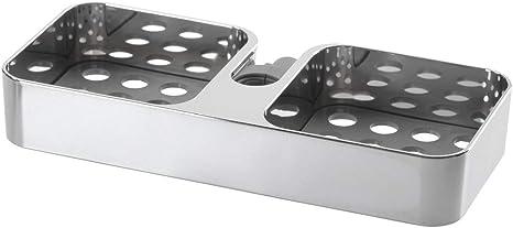 Ikea Brogrund 903.285.26 - Estante de ducha (cromo, 9 ¾ x 1 ½)
