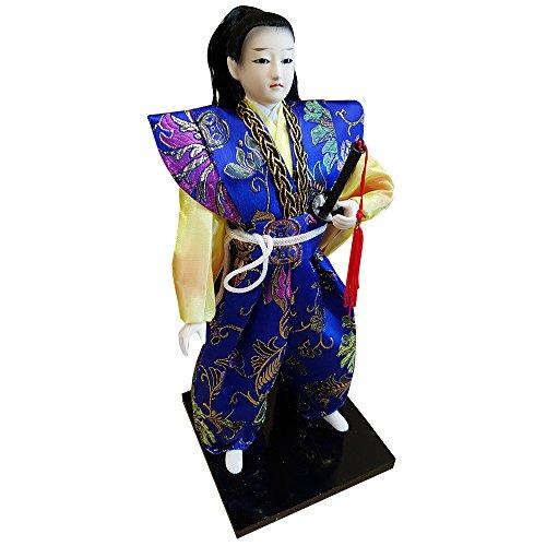 12'' Japanese Samurai Doll THY2012-12 by THY ARTS