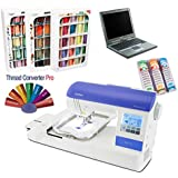 Brother PE-770 Embroidery Machine I-WANT-IT-ALL PACKAGE (Thread, Designs, Stabilizers, FREE Laptop)