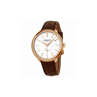 9d38546006e Amazon.com: Patek Philippe Calavatra Men's Watch - 5123R-001: Patek ...