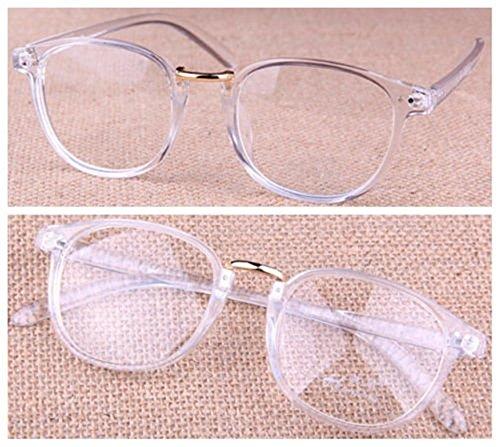 Hot Sale Transparent Eyeglass Frame Clear Glasses Full Rim Retro Spectacles - Glasses Sale Rx