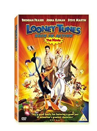 looney tunes back in action 2003 dvd