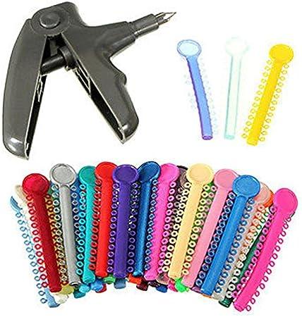 Bracelets dentaire orthodontique Ligature Pistolet distributeur Bonew 1040/pcs Ligature Ties