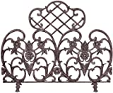 Cheap Uniflame, S-5812, Single Panel Bronze Finish Cast Aluminum Screen