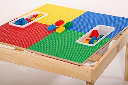 Fun Builder Lego & Duplo Compatible Mesa & Play Cover con ...