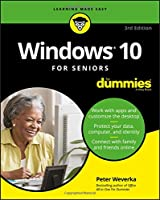 Windows 10 For Seniors For Dummies, 3rd Edition Front Cover