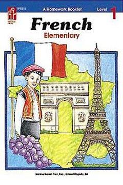(Frank Schaffer Publications Homework Booklet French Elem. Lev 1elementary Level 1)