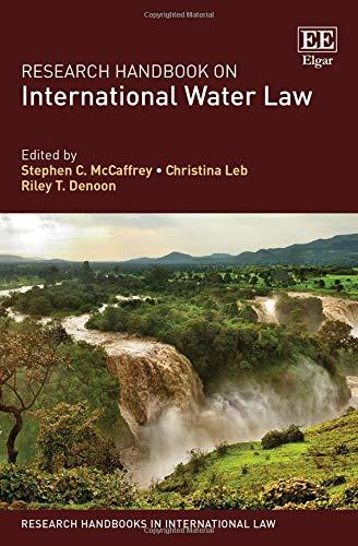 Pdf Law Research Handbook on International Water Law (Research Handbooks in International Law series)