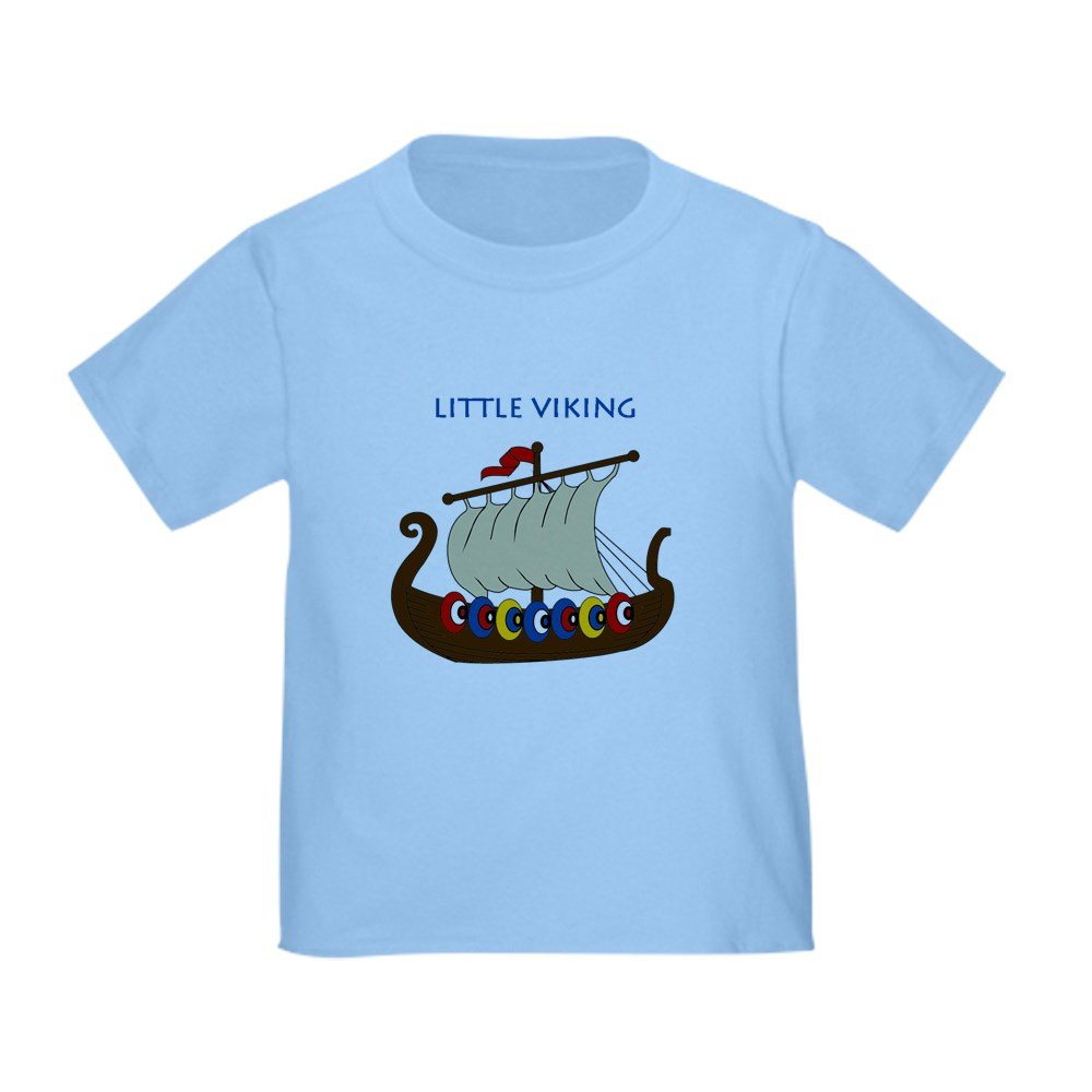 CafePress - Little Viking - Cute Toddler T-Shirt, 100% Cotton