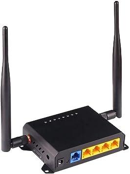 El enrutador WiFi inalámbrico KuWFi Gigabit AC300mbps, la antena de 2 piezas proporciona una potente señal WiFi, adecuada para la red WiFi de ...