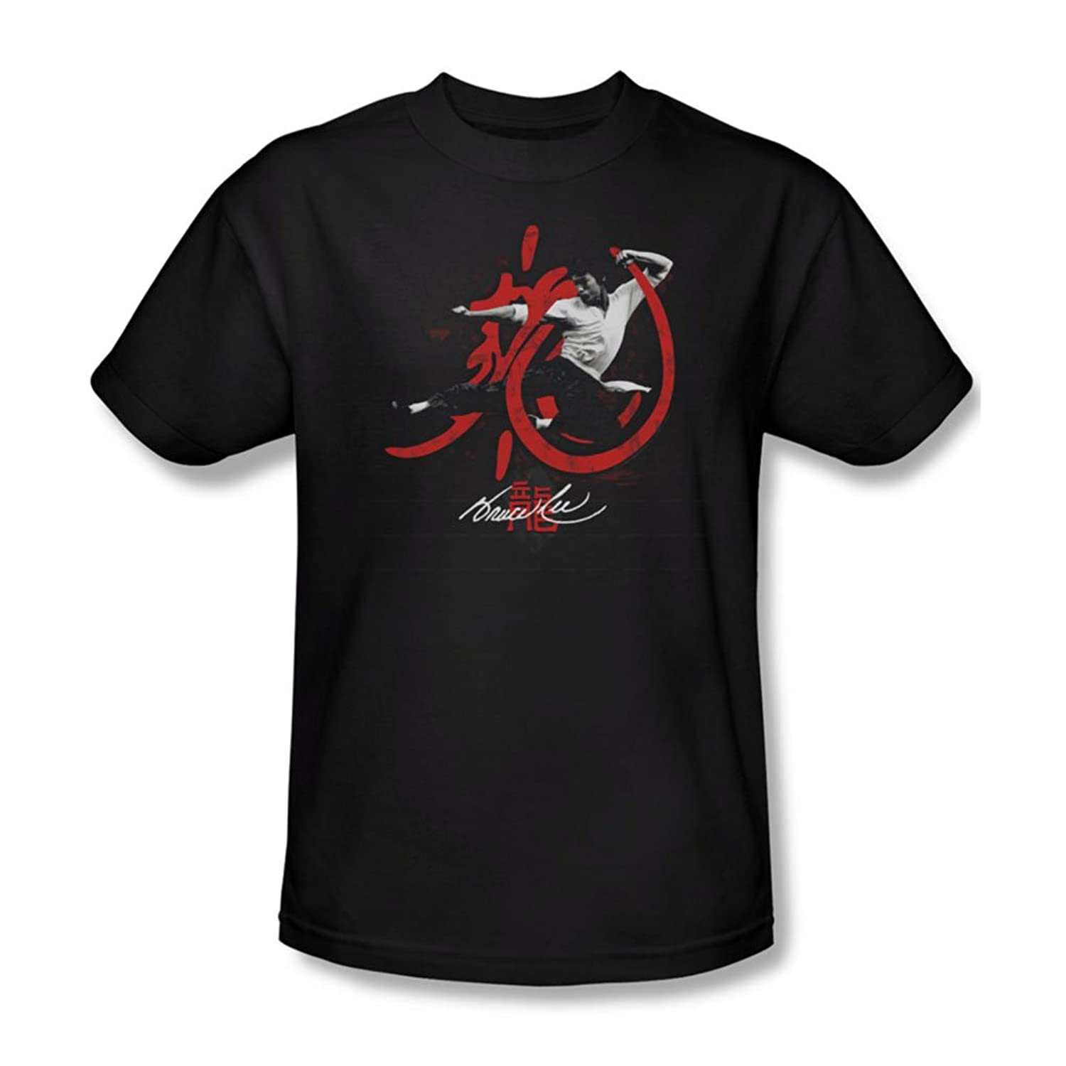 Bruce Lee - Mens High Flying T-Shirt In Black