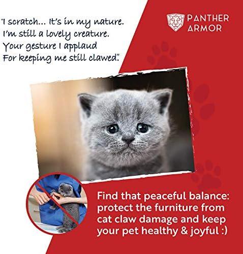 Panther Armor 10 pack de cinta para disuasión de arañazos para gatos 10