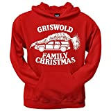 CVAH1001 Griswold Family Christmas Mens Hoodie, Red, Large