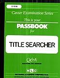 Title Searcher, Jack Rudman, 0837315166