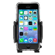 """Car Phone Mount Holder Cradle for iPhone 7, 7 Plus, 6s, 6s Plus, 6, 6 Plus, Galaxy S7, S7 Edge, S6, S6 edge, Note 5, 4 and other Smartphones up to 5.7"""""""