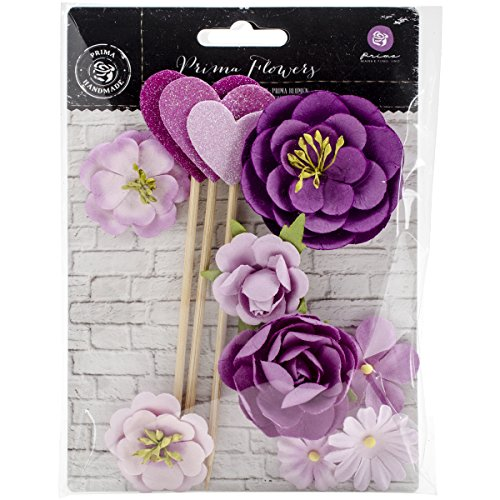 Prima Marketing Valentina Mulberry Paper Flowers 1