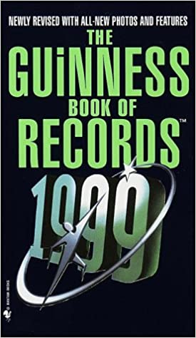 amazon the guinness book of world records 1999 guinness world