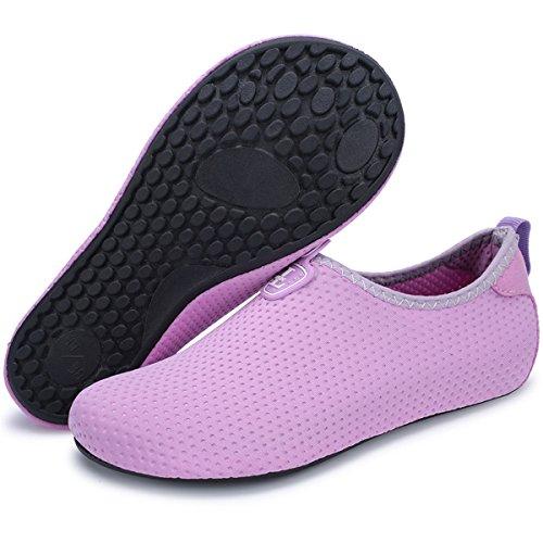 Shoes Swim Mens EU41 5 RUN Aqua XL 42 Shoes M 10 9 11 Water W L Purple Socks 8 BIq1twExnx