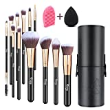 Qivange Makeup Brushes, Professional Foundation Powder Contour...